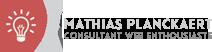 Mathias PLANCKAERT - Consultant et chef de Projets Web Freelance