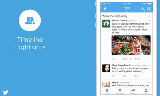 Twitter propose un résumé des évènements importants votre timeline