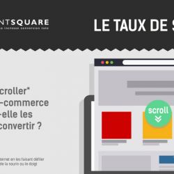 Informations sur le taux de scroll en e-commerce